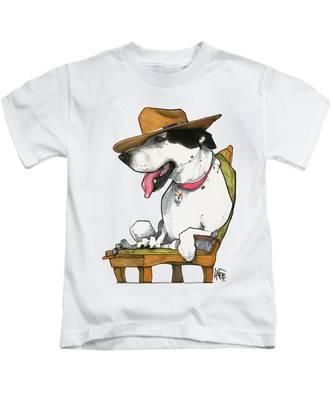 Pet Portrait Kids T-Shirts