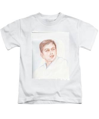 Rahul Dravid  Indian Cricketer Kids T-Shirt