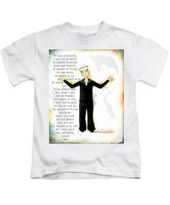 Sailor's Prayer Kids T-Shirt
