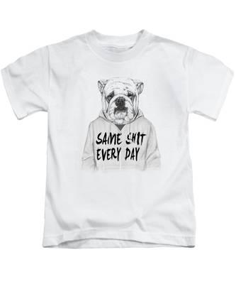 Bulldog Kids T-Shirts