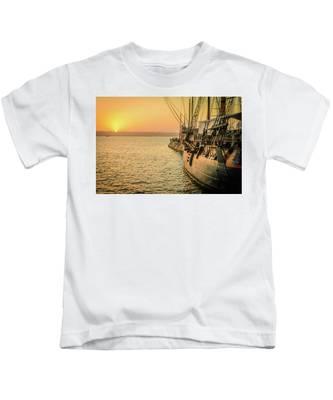 San Diego Sunset Kids T-Shirt