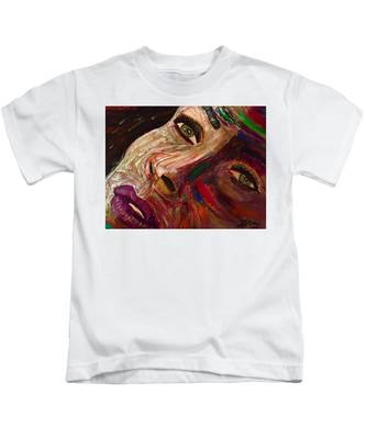 She Waits Kids T-Shirt