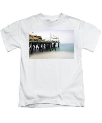Softly On The Pier Kids T-Shirt