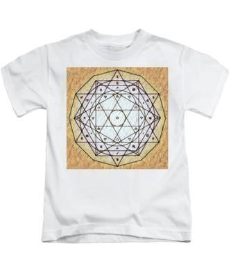 Starr Matrixx Kids T-Shirt by Derek Gedney