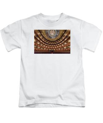 Teatro Colon Performers View Kids T-Shirt