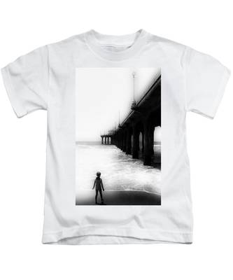 Testing The Waters Kids T-Shirt