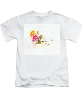 Two Roses Kids T-Shirt