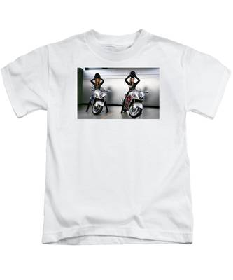 Two To Go And Go And Go. Kids T-Shirt