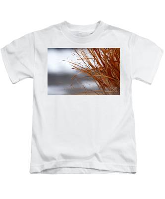 Winter Grass - 2 Kids T-Shirt