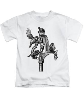 Talk Around The Watercooler Kids T-Shirt