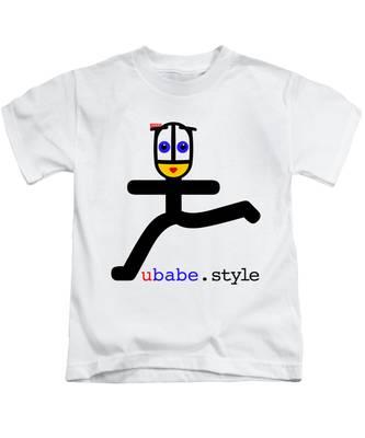 Babe Runner Kids T-Shirt