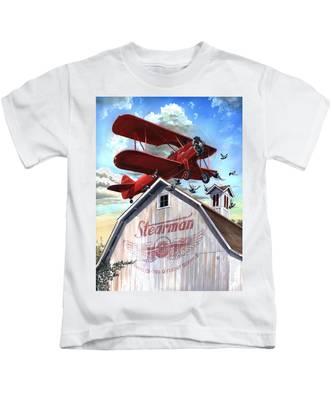 Barn Stormer - Customizeable Kids T-Shirt