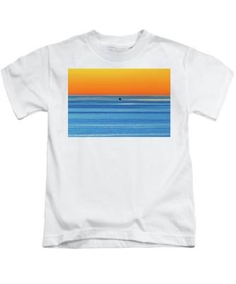 Golden Sunset Series I I I Kids T-Shirt