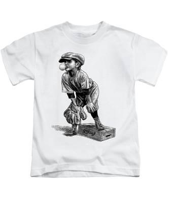 Little Leaguer Kids T-Shirt