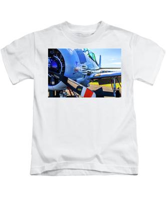 T-28b Trojan Banshee  Kids T-Shirt