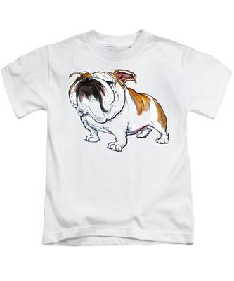 English Bulldog Kids T-Shirts
