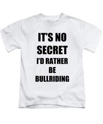 Bullriding Kids T-Shirts