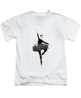 Ballerina Kids T-Shirts