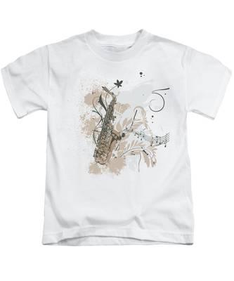 Saxophone Kids T-Shirts