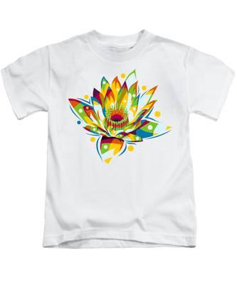 Plumeria Kids T-Shirts