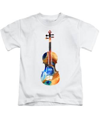Violin Kids T-Shirts