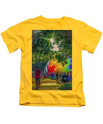 Balloon Fest Spirit Kids T-Shirt
