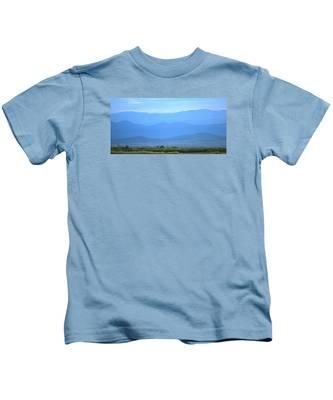 landscape of North CA Kids T-Shirt