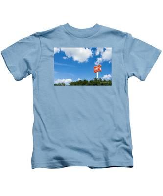 Miller Brewery Sign Kids T-Shirt