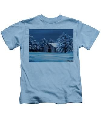 Windburg Barn 2 Kids T-Shirt