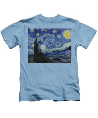 The Starry Night Kids T-Shirt