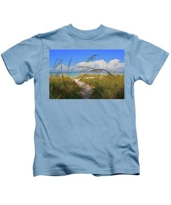 A Day At The Beach Kids T-Shirt