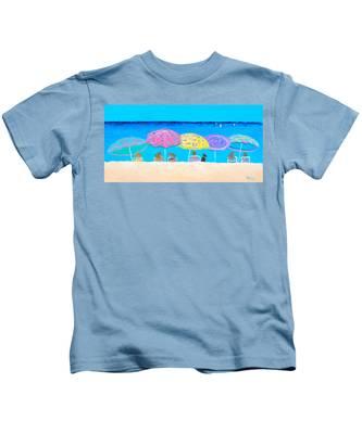 Beach Sands Perfect Tans Kids T-Shirt
