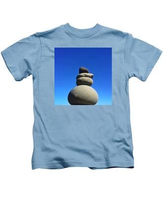 Beach Snowman Kids T-Shirt
