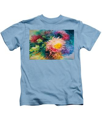 Chrysanthemums Kids T-Shirt