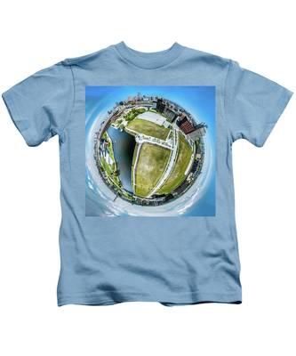 Freshwater Way Little Planet Kids T-Shirt