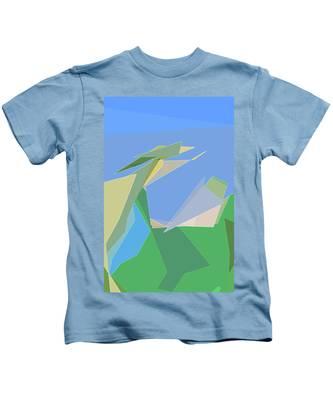 Hailing A Taxi Kids T-Shirt