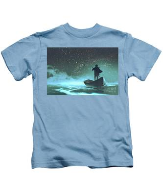 Journey To The New World Kids T-Shirt