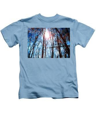 Jumbled Waters Kids T-Shirt