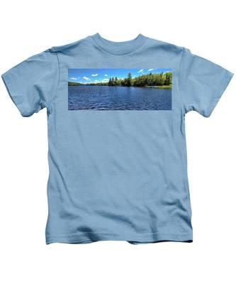 Late Spring On 6th Lake Kids T-Shirt