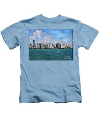Miami, Florida Kids T-Shirt
