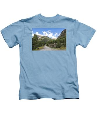 Mountain Crossroads Kids T-Shirt