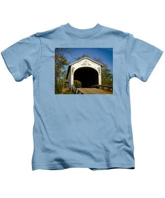 Offutt's Ford Covered Bridge Kids T-Shirt