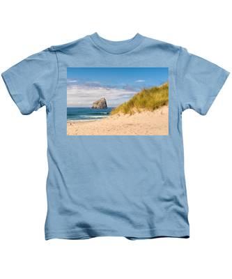 Pacific Beach Haystack Kids T-Shirt