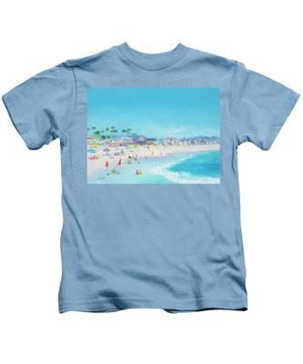 Pacific Beach In San Diego Kids T-Shirt