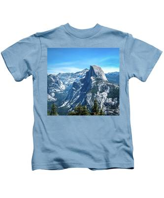 Peak Of Half Dome- Kids T-Shirt