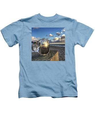 Reflecting Sunglasses Kids T-Shirt