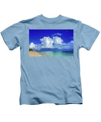 Caribbean Clouds Kids T-Shirt