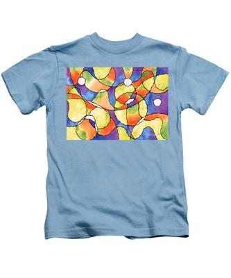 Carnival Balloon Abstract Kids T-Shirt