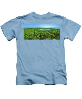 Contoy Island Kids T-Shirt