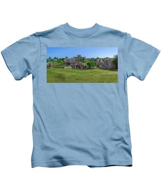 In The Footsteps Of The Maya Kids T-Shirt